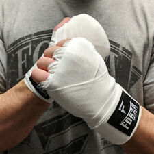 "Forza Sports 120"" Mexican Style Boxing and MMA Handwraps - White"