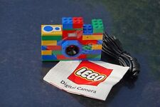 VINTAGE LEGO Bricks 3MP Digital Camera Built-in Flash Color LCD Screen USB Cable