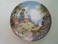 THE WINDMILL Plate By Robert Hersey Coalport China The Tale of a Country Village