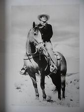 JOHN WAYNE poster dimension environ 61 x 91 cm