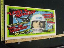 MB/ 1996 Rock Roll Concert Poster Man .....Or Astro-Man? Lindsey Kuhn S/N#200