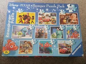 Big Disney Pixar Bumper Puzzle Pack 10 In A Box All Pieces