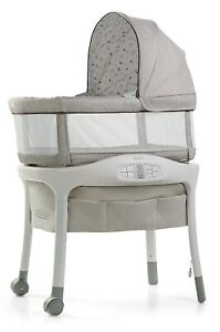 Graco Baby Sense2Snooze Bassinet with Cry Detection Technology Roma New