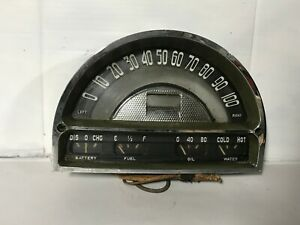 1953 1954 PONTIAC ORIGINAL INSTRUMENT CLUSTER 53 54