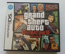 Nintendo DS game: GTA Grand Theft Auto Chinatown Wars *** Complete ***