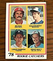 1978 Topps #708 Dale Murphy RC-  BRAVES Print defect