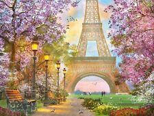 Ravensburger - 1500 PIECE JIGSAW PUZZLE - Paris Romance Eiffel Tower