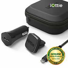 iOttie iTap Magnetic Mounting and Charging Travel Kit Phone Lightning Micro-USB