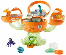 Fisher-Price Octonauts Sea-Slimed Octopod Figures Playset Kids Toy NEW