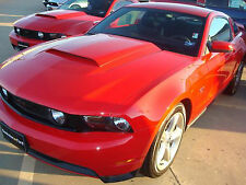 PAINTED ABS PLASTIC  HOOD SCOOP FOR A 2010-2014 FORD MUSTANG FACTORY STYLE