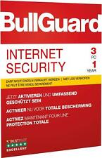 BullGuard Internet Security 3 PC 1 Jahr 2016 5gb Backup