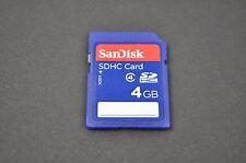 SanDisk 4GB SDHC Memory Card Camera Storage SD Card  EH0387
