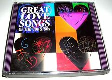 RARE - GREAT LOVE SONGS OF THE '70s & '80s (4 CD SET) WARNER SPECIAL PRODUCT