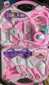 1Children Kids Role Play Doctor Nurse Learning Toys Set Medical Kit Xmas Gift UK