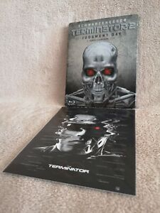 Terminator 2 Judgment Day SteelBook [Blu-ray: B, Bonus CARD Skynet Edition] RARE