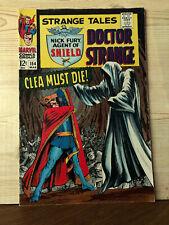 Strange Tales #154 (Mar 1967, Marvel) VG/FN 5.0 Nick Fury Doctor Strange