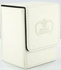Ultimate Guard Flip Deck Case Leather 80 White