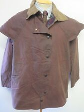 """Barbour A1300 Backhouse Stockman 3/4 Waxed jacket - M 40"""" Euro 50 in brown"""