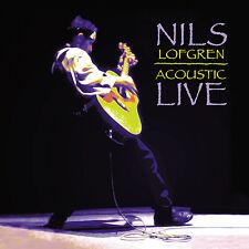 NILS LOFGREN New Sealed Ltd Ed 2017 LIVE ACOUSTIC CONCERT SACD CD