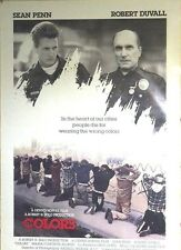 Colors - Orig One Sheet -1988 - Sean Penn, Robert Duvall