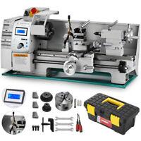 "8"" x 16"" Mini Metal Lathe 750W Variable-Speed DC Motor 50-2500RPM Metalworking"