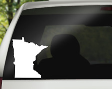 Minnesota Decal Sticker for Car, Wall or Laptop