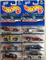 Mattel Hot Wheels 2000 First Edition Lot of 8 Toy Cars NIB