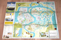MAFIA III 3 Map / Poster 68x55cm Xbox One Playstation 4 PS4 -