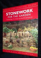 Alan & Gill Bridgewater; Stonework For The Garden | B/New PB, 2002