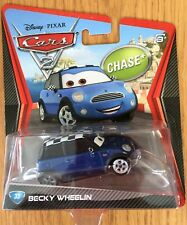 Disney Pixar Cars 2 BECKY WHEELIN Chase #33 Mattel Diecast Xmas NEW