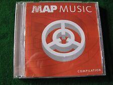 MAP MUSIC COMPILATION.. Various Artists ( CD Album Promo)