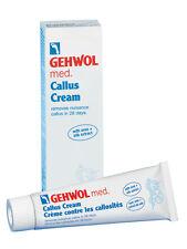 Gehwol Med Callus Cream Reduces Calluses Suitable for Diabetics 75ml