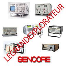 Ultimate Sencore Operation Repair Amp Service Manual 260 Pdf Manuals On Dvd