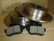 QUALITY Front Brake Disc Rotor (2 pcs) 3455 + Front brake pad set Kit