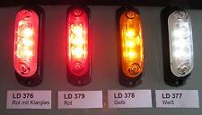 LED - PKW  LKW Anhänger Umrissleuchte / Leuchte / Begrenzungsleuchte 12V - 24V