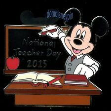 Disney Pin *National Teacher Day 2013* Mickey Mouse (3D Artist Proof AP)!