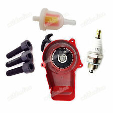 Rot Seilzugstarter Pull Starter Bolzen Für 49cc Mini ATV Dirt Pocket Bike