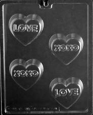 LOVE XOXO HEART SHAPED OREO COOKIE MOLDS OREOS