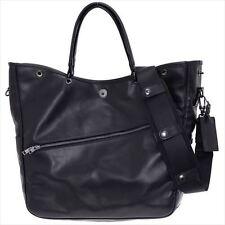 NEW Yoshida Bag LUGGAGE LABEL ELEMENT 2WAY TOTE BAG 021-01253 Black