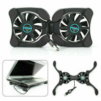 Laptop Cooling Fan Pad Cooler USB Mat Foldable For Coolpad X8L Notebook Com V2M7