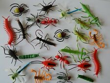 Toy Insect Nature Tube! 24 figures Bugs/Creepy Gift Birthday Stocking filler