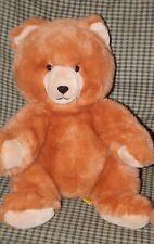 """Vintage 24 K Polar Puff Large Plush Teddy Bear w/ Jingle Sound Tail """"Jason"""" 16"""""""