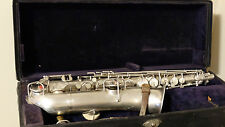 VINTAGE Buescher True Tone  Low Pitch  C Melody Saxophone