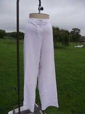 "Flattering GLAMOROSA White Stretch Trousers Plus Size 36 Inside Leg 34"" BNWT"