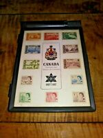 1867-1967 CENTENNIAL CANADA STAMP SET & Collector's Box with Water Dispenser