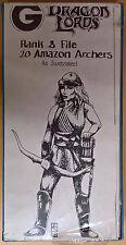Grenadier Fantasy Lords - 339 Amazon Archers x 20 Battleset (Mint, Sealed)