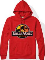 Jurassic World Hoodie Jurassic Park Logo Dinosaur Gift  Adult & Kids Hoodie Top