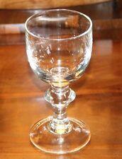 antik großes schweres Glas ähnlich Berliner Weisse Glas Pokal mundgeblasen
