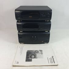 Technics Ch40 Amp/Tuner/Cd Player with manual. No remote.