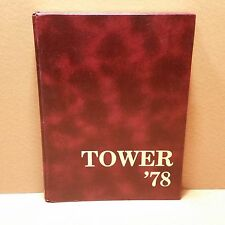 1978 TOWER JERSEY CITY STATE COLLEGE YEARBOOK - NEW JERSEY, EXCELLENT CONTDITION